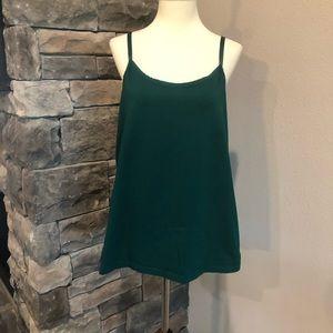 Green Cotton Cami